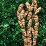 Zonder titel, terracotta, 185x75x20 cm